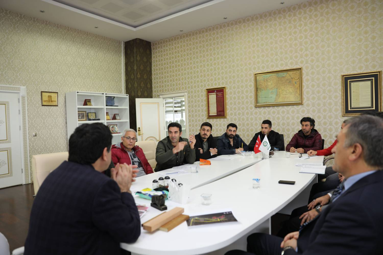 Tuz Terapi Uygulama ve Araştırma Merkezi Proje Toplantısı Yapıldı
