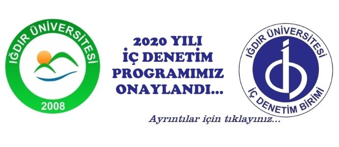 2020 Yılı İç Denetim Programımız Onaylandı