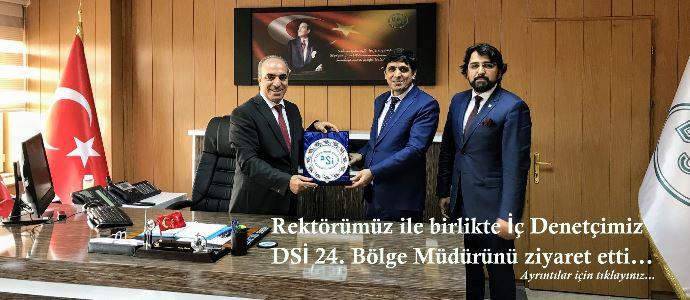 DSİ 24. Bölge Müdürünü Ziyaret