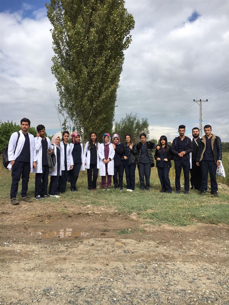 Laborant ve Veteriner Sağlık Programı ÖğrencileriUygulama Dersinden Kareler
