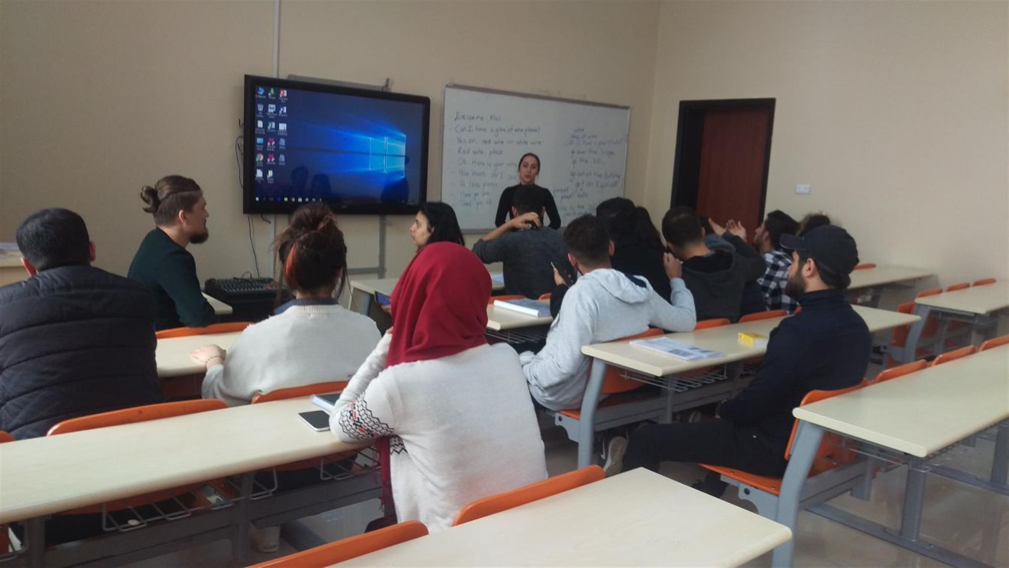 Turist Rehberliği Programı Dil Laboratuvarı