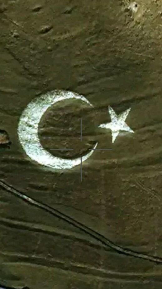 Pamuk Mountain Moon Star Painting Activity