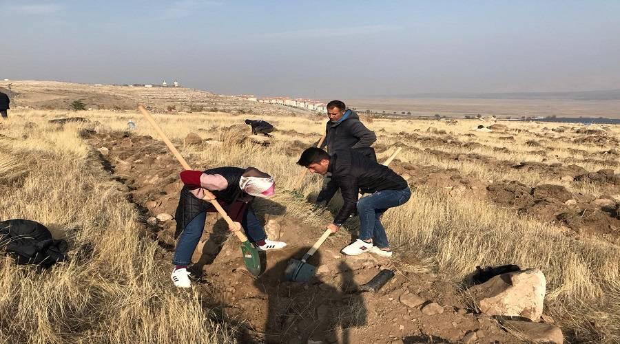 Şehit Bülent Yurtseven Kampüsünün yeşillendirilmesi etkinliği