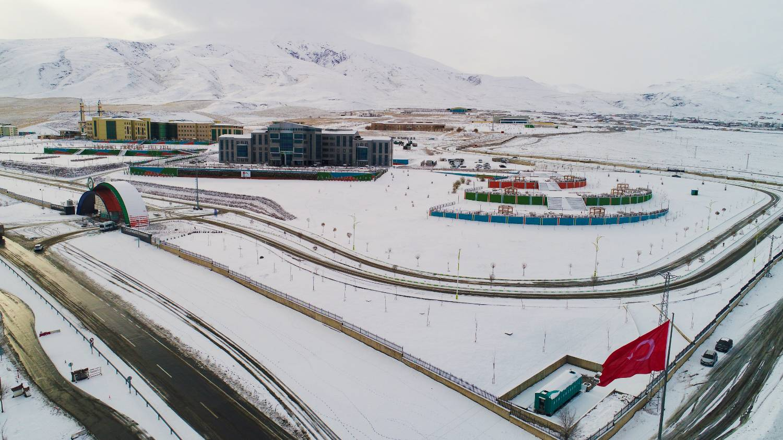 Üniversitemiz 2020 Kış Manzaraları