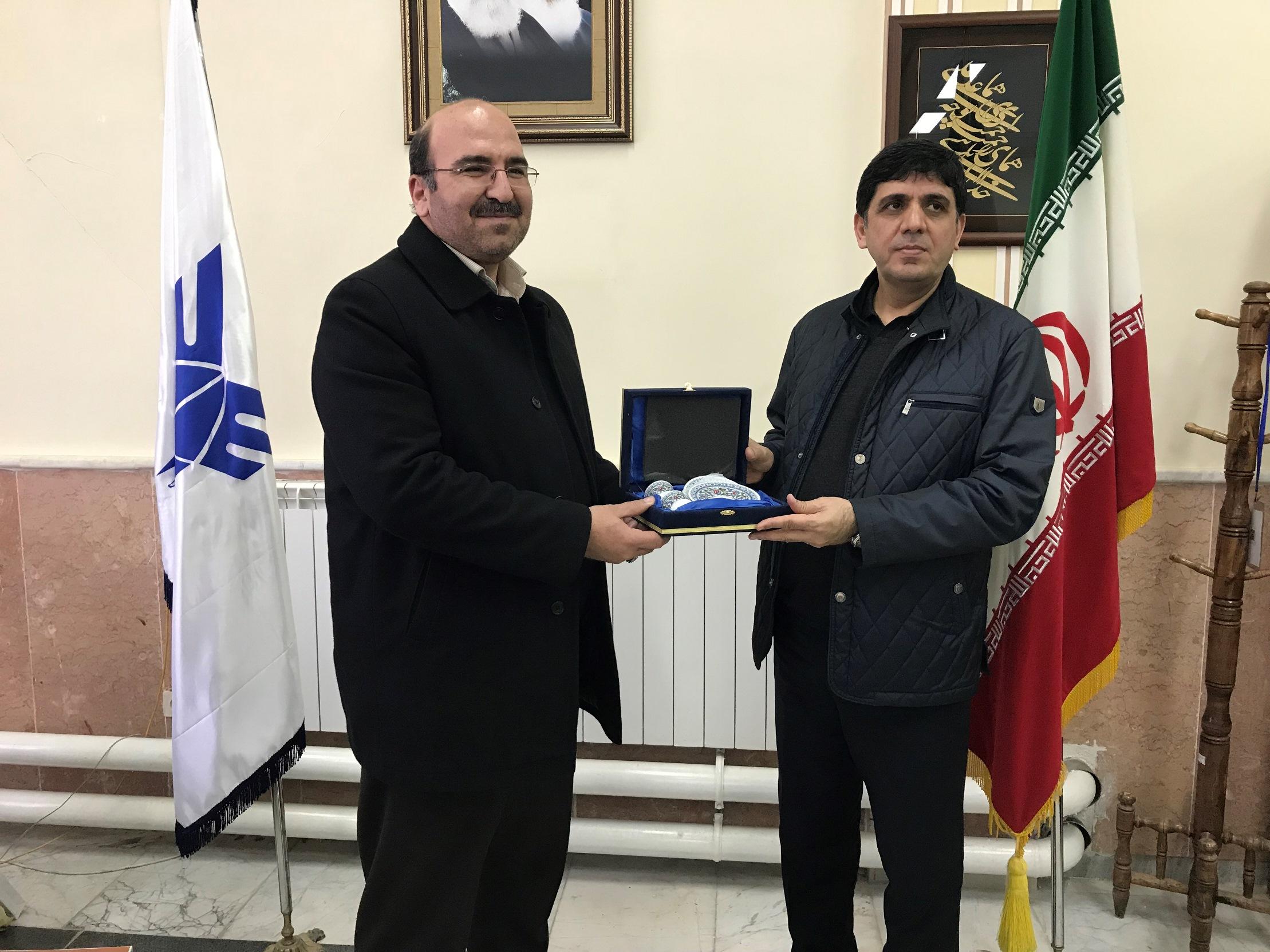 Rektör Alma, Uluslararası Maku İslamic Azad Üniversitesini Ziyaret Etti