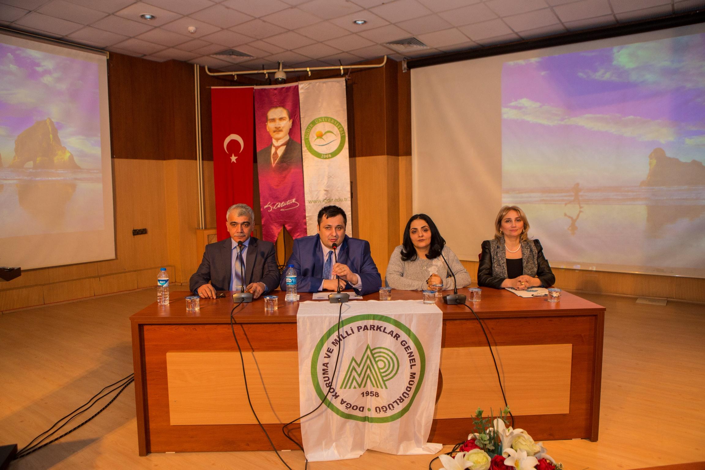 """Üniversitemizde """"2 Şubat Dünya Sulak Alanlar Günü"""" Konulu Panel Düzenlendi"""