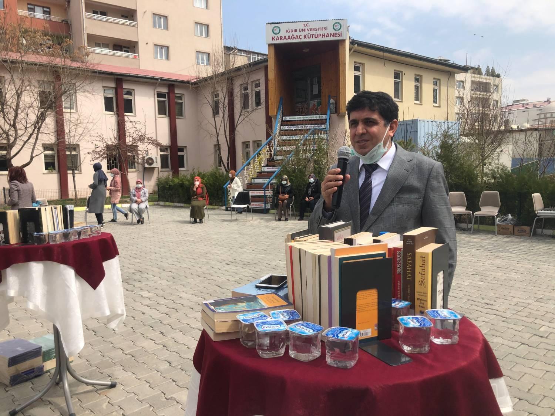 Üniversitemizde 'Kütüphane Haftası' Etkinlikleri Düzenlendi