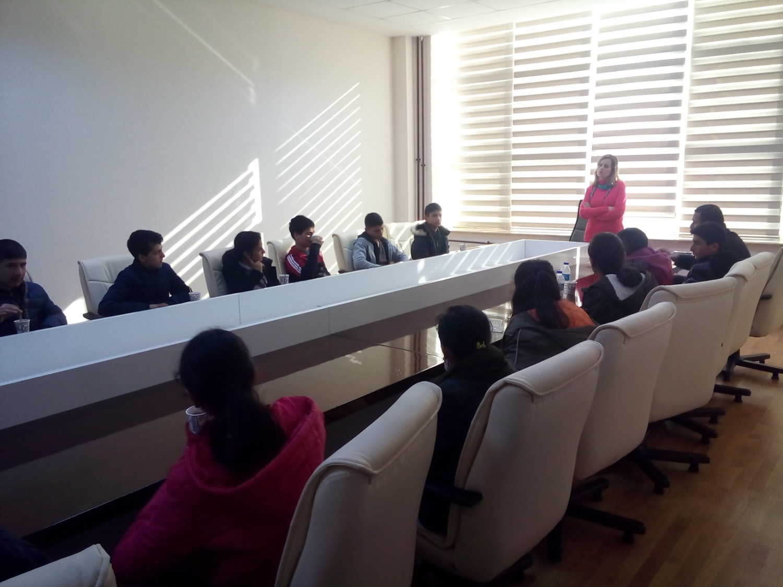 Yaycı 75. Yıl Ortaokulu Öğrencilerinden Üniversitemize Ziyaret