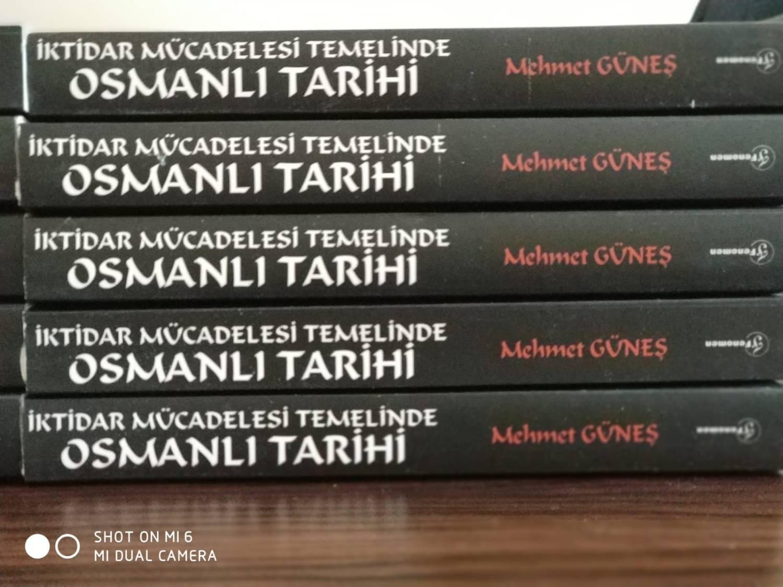 """Doç. Dr. Mehmet Güneş'in """"İKTİDAR MÜCADELESİ TEMELİNDE OSMANLI TARİHİ"""" adlı yeni kitabı çıktı..."""