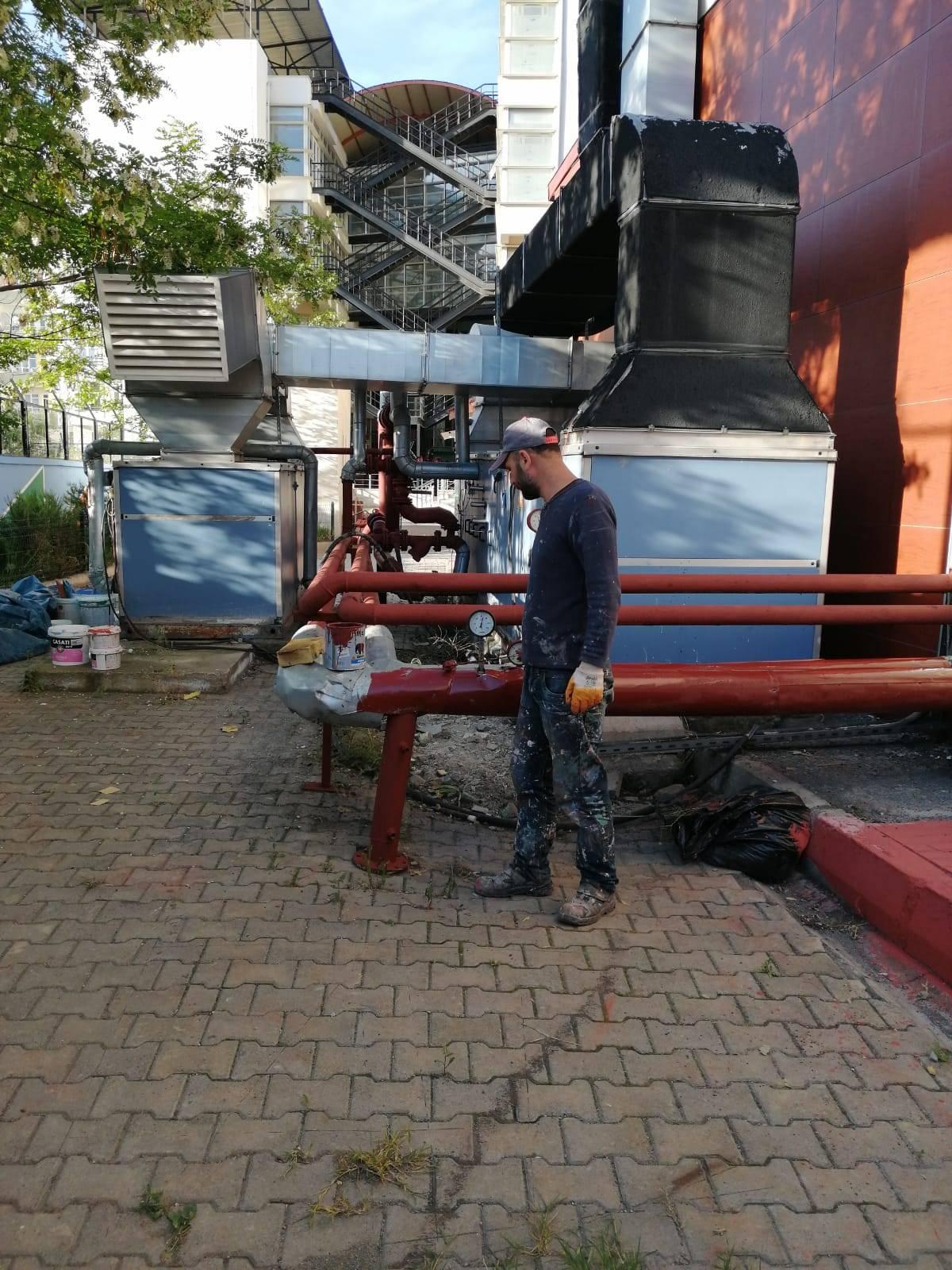 Karaağaç Kampüsü Peyzaj Yenileme Çalışmaları
