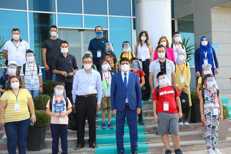 Serhat'ın Çocukları Doğada' Proje Ekibi Rektör Alma'yı Ziyaret Etti