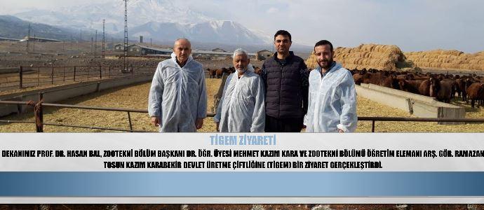 TİGEM Ziyareti