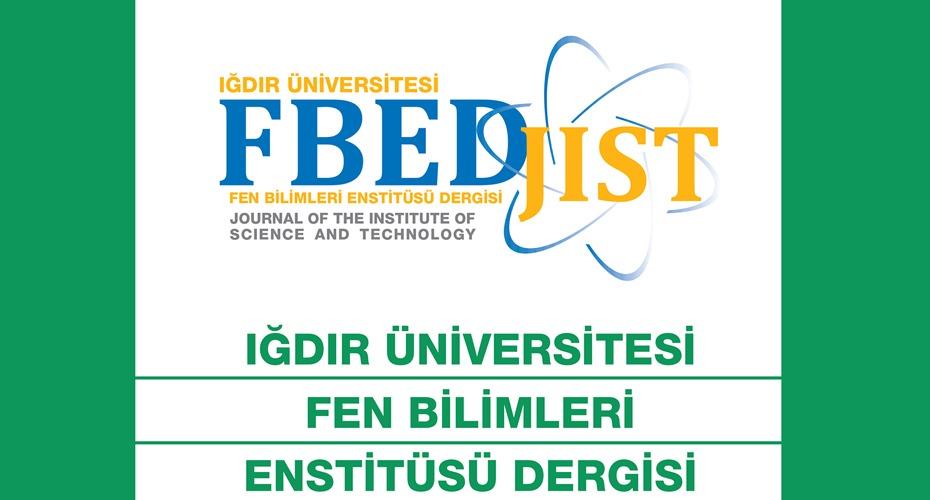 Fen Bilimleri Enstitüsü Dergisi