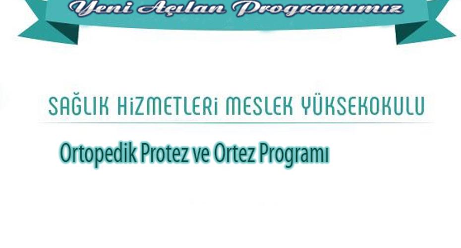 Ortopedik Protez ve Ortez Programı